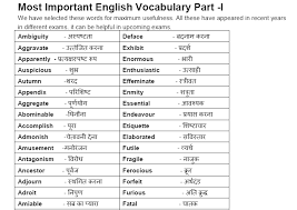 these meaning vocabulary with hindi meaning pdf download