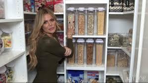 how to organize your pantry like khloe kardashian u0027s glamour
