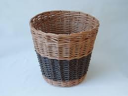 waste paper baskets wp04 waste paper basket wicker baskets