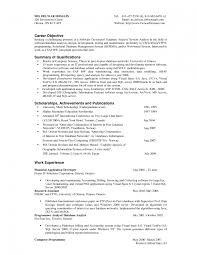 14 Good Objective In Resume Invoice Template Download - objective resume sles skills in a career it statemen sevte