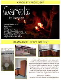 06 12 2016 carols by candlelight salama park u2014house for rent