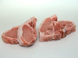 old spot pork chops four to a package