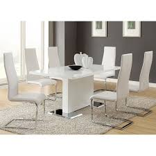 white dining room set modern white dining room set coaster furniture furniturepick