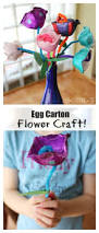 egg carton flowers craft an easy activity for kids fun