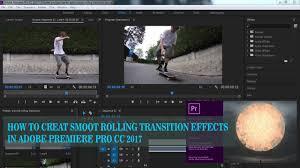 tutorial editing video di adobe premiere cara membuat halus bergulir transisi efek di adobe premiere pro cc