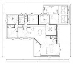 maison 4 chambres plan de maison 4 chambres attachant modele de maison en l