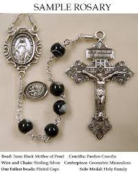 custom rosary of build a custom rosary handmade by