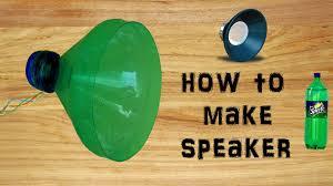 how to make speaker with plastic bottle simple u0026 easy diy
