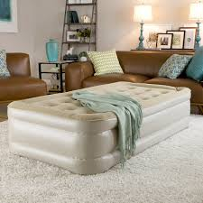 instabed raised queen size airbed with never flat pump free