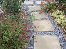 Walkway Ideas For Backyard by Exterior Design Awesome Pour Concrete Slab Walkway Ideas With