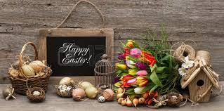 happy easter decorations still easter eggs stock photos royalty free business images