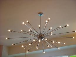 Light Fixture Chandelier with Atomic Sputnik Starburst Light Fixture Chandelier Huge Modern Ebay