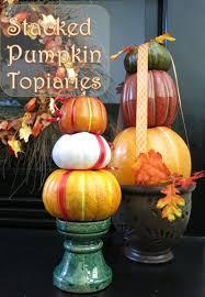 pumpkin decoration how to make a stacked pumpkin decoration hometalk