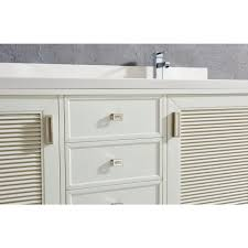 Bathroom Vanity Cabinets by Inch White Finish Cottage Double Sink Bathroom Vanity Cabinet With