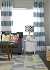 Drapes Grommet Top Diy Grommet Top Curtains Using Shower Curtains