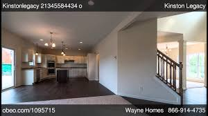 Wayne Homes Floor Plans by Kinston Legacy Wayne Homes Obeo Virtual Tour 1095715 Youtube