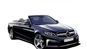 convertible mercedes next generation mercedes benz e class convertible render photo