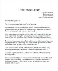 Examples Of Resume References by Tenant Recommendation Letter Sample Sample Personal Reference