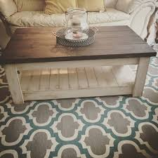 farmhouse style coffee table 42 diy ideas for coffee tables to make you say wow rustic