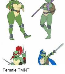 Tmnt Memes - female tmnt meme on me me