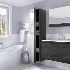Single Sink Bathroom Vanity Bathroom Double Sink Wall Hung Vanity Unit Modern Single Sink
