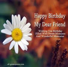 wishing you birthday filled with sweet moments and wonderful