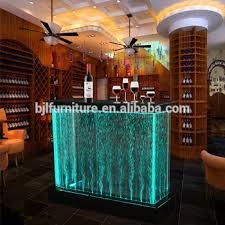 Illuminated Reception Desk Led Lighting Bar Counter Design Illuminated Reception Desk With