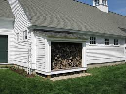 How To Build A Wood Shed Plans by Building A Firewood Shed A Concord Carpenter