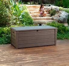 Build Outdoor Storage Bench Plans by Outdoor Storage Bench For Patio Inspiring Home Ideas