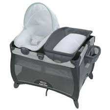 pack and play with bassinet and changing table pack n play playards bassinets graco