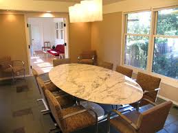 overview saarinen tulip marble oval dining table tulip round