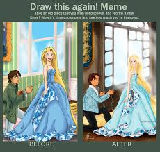 Tangled Meme - tangled draw this again by tella in sa on deviantart