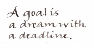 quote goals are dreams with deadlines forget 90 of your dreams clipart