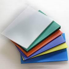 polypropylene corrugated plastic floor protection sheet