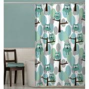 Owl Drapes Owl Shower Curtains