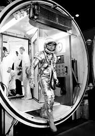 workers don scape suits nasa