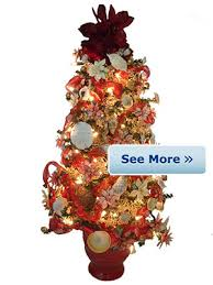 shop decorated christmas trees online beach art trees
