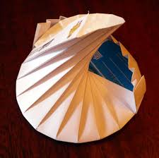 Origami Cd Cover - the spiral data tato a curiously complex origami cd 9