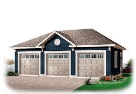 3 car detached garage plans garage plan 76153 area 768 sq ft 3 bays 32 x 24 3cargarage