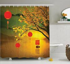 Oriental Shower Curtains Chinese Shower Curtain Ebay