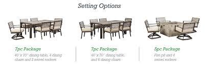 40 X 40 Dining Table Amazon Com Ashely Furniture Signature Design Peachstone