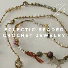 crochet necklace with beads images Eclectic beaded crochet jewelry jeanne oliver jpg