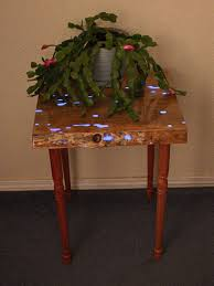 Glow In The Dark Table by Entry Way Table Night Stand Nightstand Glow In The Dark Plant