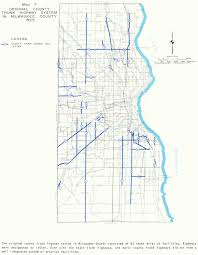 Milwaukee Wisconsin Map by Books And Sewrpc Reports