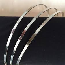 metal headbands silver metal headbands lilymhats