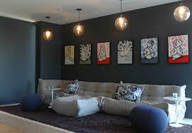 living room bean bags dark gray paint living room contemporary with bean bag chair blue