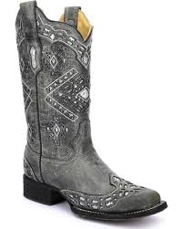 womens corral boots size 11 corral s glitter boots square toe sheplers