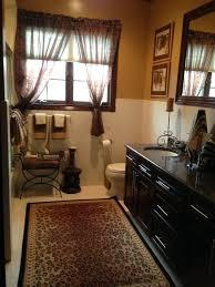 zebra print bathroom ideas animal print bath rug jeux de decoration