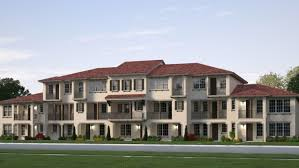 The Floor Plan Of A New Building Is Shown by The Preserve At Raintree New Townhomes In Pembroke Pines Fl