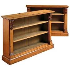 classic oak bookcase stain in gunstock color built by kal